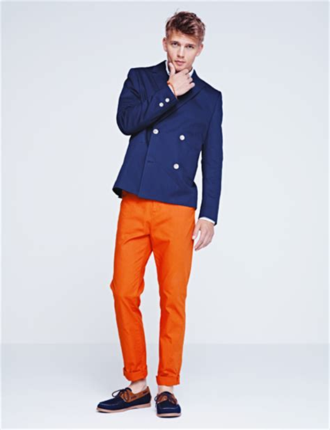 h m 2012 summer mens lookbook designer denim