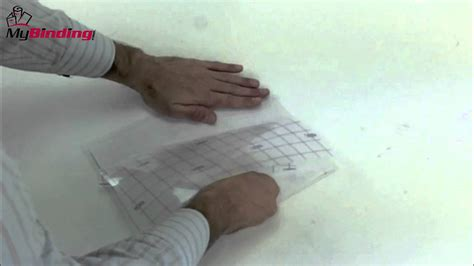 how to use gbc self seal laminating sheets