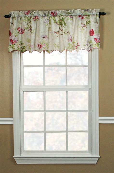 Scalloped Valance Curtains Balmoral Scalloped Valance Ellis Scalloped Valances