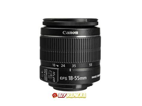 Lensa Canon Ef S 18 55mm F 3 5 5 6 Is sewa lensa canon ef s 18 55mm f 3 5 5 6 is ii jogja