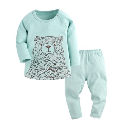 newborn t shirt pattern baby pajamas baby girl and baby boy clothes long sleeve