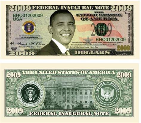 Make Fake Money Online Free - barack obama 2009 dollar bills from noveltieswholesale com