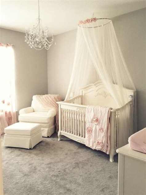 Canopy For Baby Crib 37 Ideas To Decorate And Organize A Nursery Digsdigs