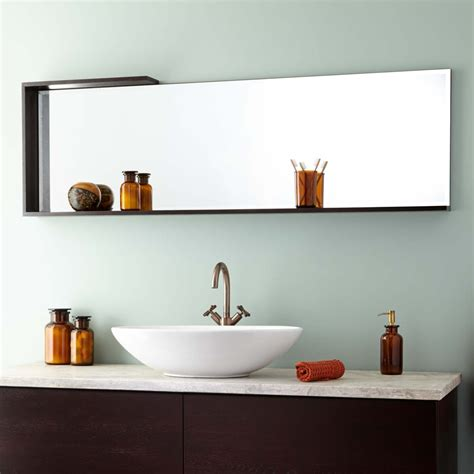 Brown Bathroom Mirror 60 Quot Roberson Mirror Brown Bathroom Mirrors Bathroom