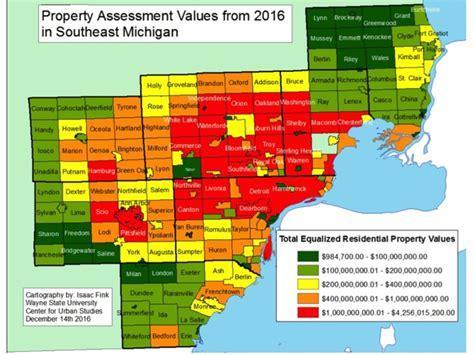 michigan property values