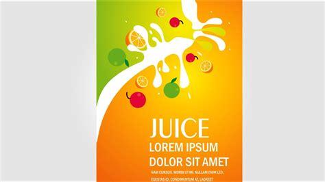 design banner juice illustrator juice banner design youtube