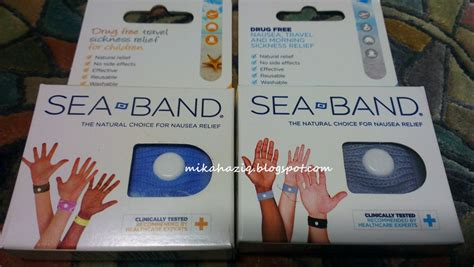 mikahaziq motion sickness relief for sea bands