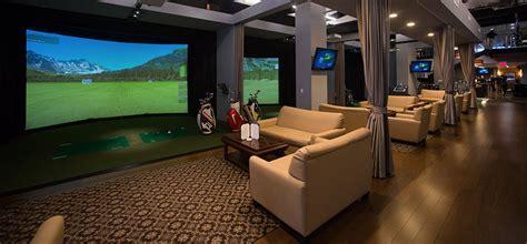 indoor golf simulator hd and full swing golf body nyc uses hd golf simulators to take golfers
