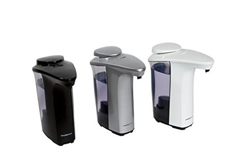 black soap dispenser kitchen sink smarterfresh black automatic soap dispenser touchless