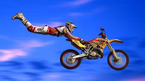 Motorrad Freestyle by Freestyle Motocross Motorrad Rennsport Wallpaper