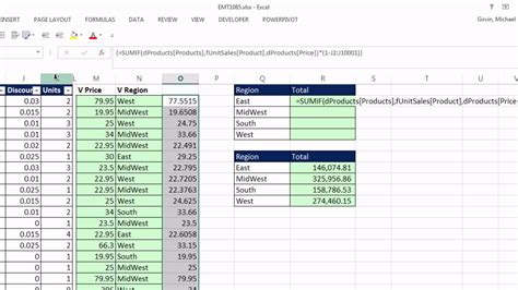 Vlookup Table Array by Excel Magic Trick 1085 How To Simulate Vlookup Helper