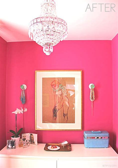 pink and white dressing room dressing room with raspberry pink fuchsia walls