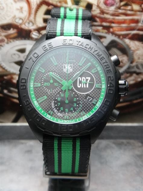 Tag Heuer F1 Cr 7 Edition Steel Orange watchlim store watchlim 220 tag heuer formula 1 cr7 swiss quartz