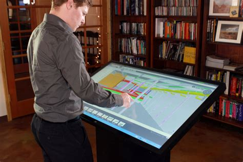 drafting table ideas multitouch drafting table for architects designers