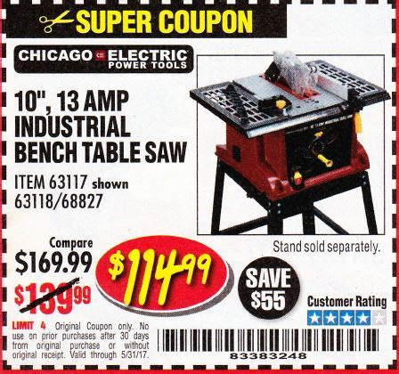 harbor freight table saw coupon harbor freight tools coupon database free coupons 25