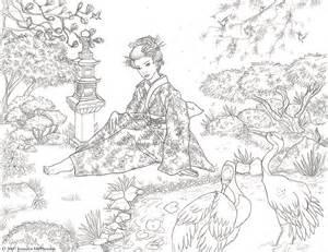 tranquil garden by jennifer mcpherson