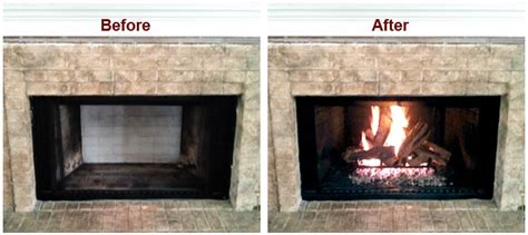 Coverting A Wood Burning Fireplace Into A Gas Unit Convert Gas Fireplace To Wood