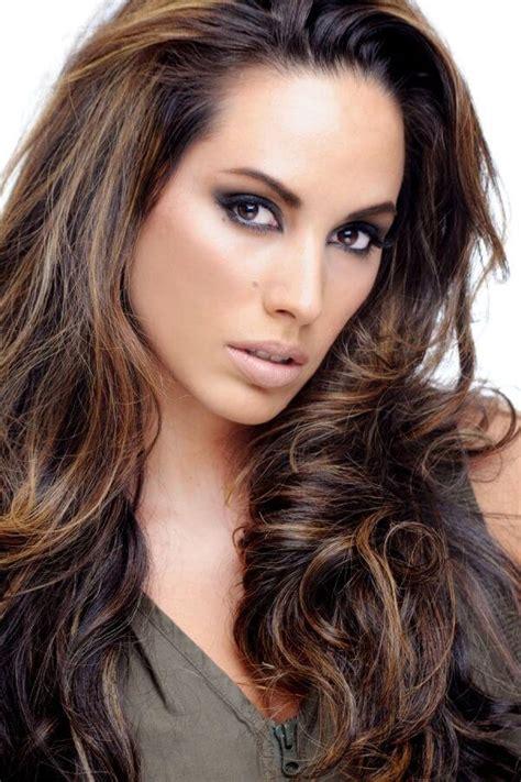 best dark color choosing hair color for brown eyes