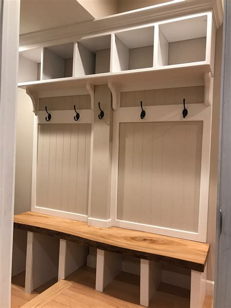 entry lockers hall tree entry locker with a live edge oak bench hall