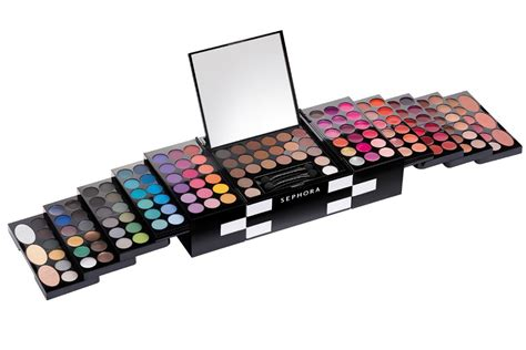 Makeup Kit Sephora sephora studio blockbuster palette makeup kit mugeek
