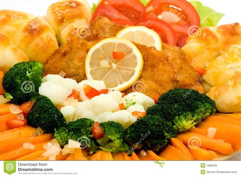 fancy vegetables for dinner fancy meal royalty free stock photos image 7598348