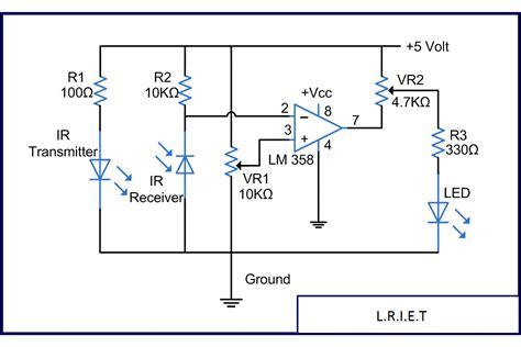 ir diode working principle robotics tutorials by neurobotics basics of sensors