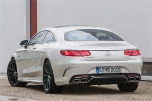2015 mercedes s63 amg 4matic coupe rear view photo 20
