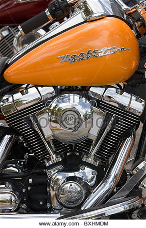 Harley Davidson 88 Engine by Stock Photos Stock Images Alamy
