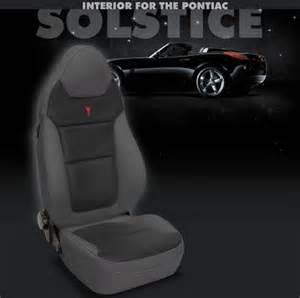 Pontiac Solstice Seat Covers Pontiac Solstice Katzkin Leather Seat Upholstery Kit
