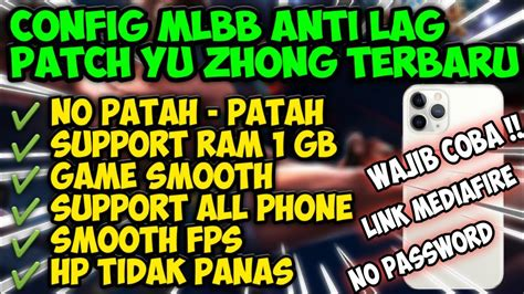 update config ml anti lag fps ping booster