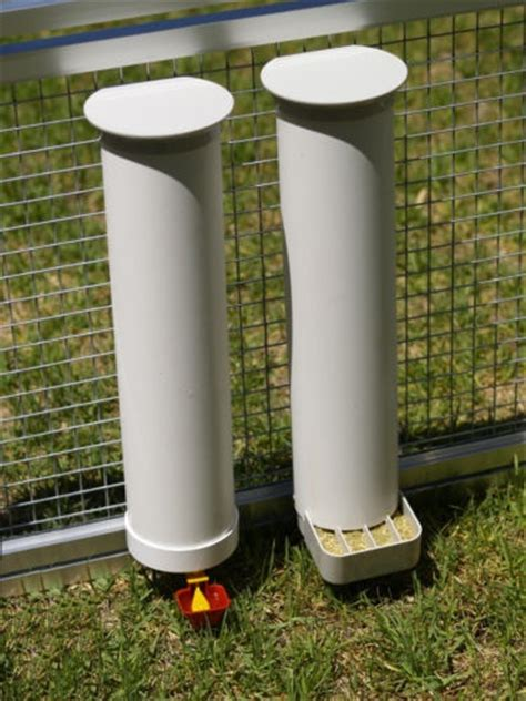 Chicken Feeders And Waterers Australia chicken poultry coop waterer drinker feeder set