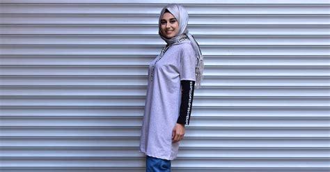 Tunik Denim Grey Dress Denim Abu gray tunic 0301 01