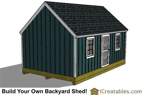 16 X 24 Shed by 16x24 Colonial Style Shed Plans