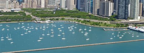 burnham harbor boat launch monroe chicago harbors