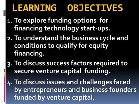Best Mba For Venture Capital by Gs503 Venture Capital Financing Intro 120115
