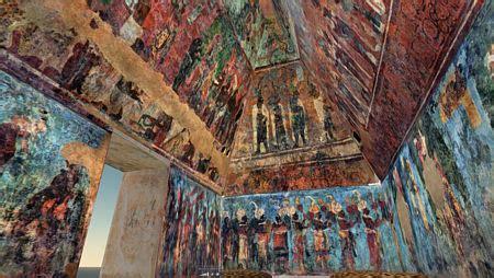 imagenes de murales mayas bonak y los murales mayas