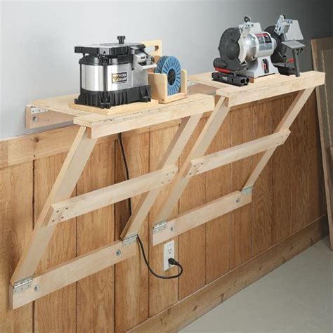 woodworking space pdf diy wood shop space saving ideas building