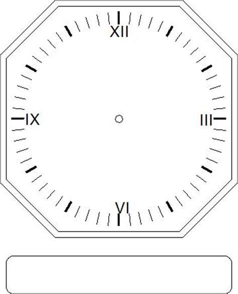 printable square clock face best photos of square clock face template transparent