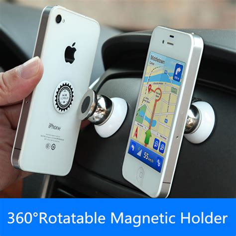 Terbaru Car Phone Holder 2 In 1 360 degree universal car phone holder magnetic