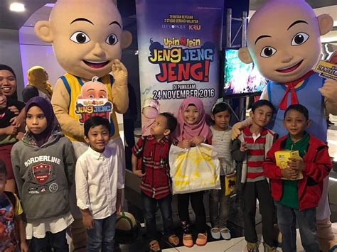 film upin ipin hasil tempatan blogger movie day out upin ipin jeng jeng jeng