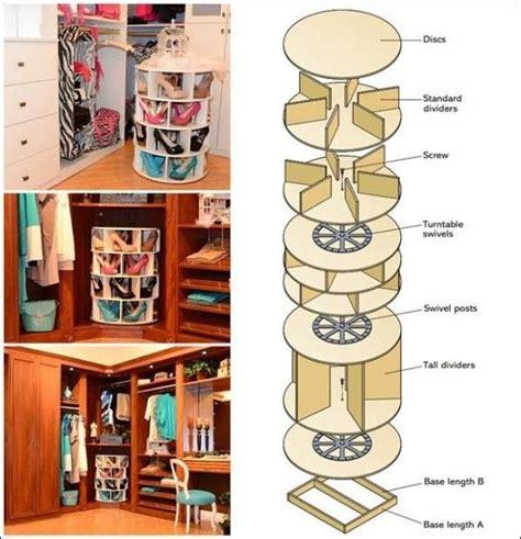 lazy susan organizer ideas 25 best ideas about rotating shoe rack on pinterest revolving shoe rack lazy susan shoe rack