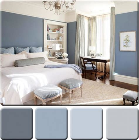 blue color palette for bedroom monochromatic color scheme for interior design