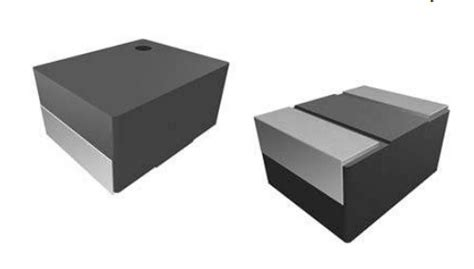vishay powdered iron smd inductors saturate up to 5a