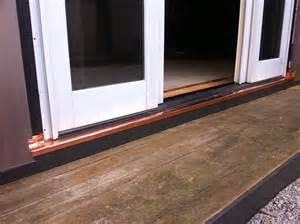 sliding door rot repair copper pan sapia sapia builders