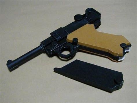Pistol Papercraft - gun papercraft luger p08 my papercraft paper craft