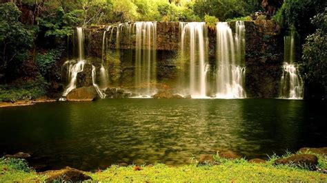 wallpaper desktop waterfall waterfalls wallpaper beautiful wallpapers