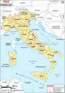 Provinces Of Italy Map by Living Rootless Geography Lesson