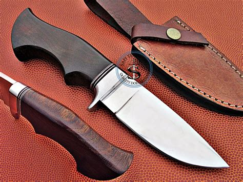 Handmade Cutlery - handmade d2 steel knife with rosewood handle s17