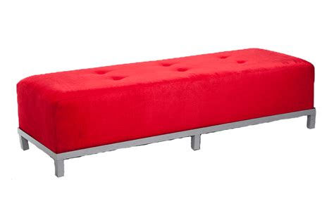 tufted velvet bench avery tufted 6 bench red velvet lux lounge efr 888 247 4411