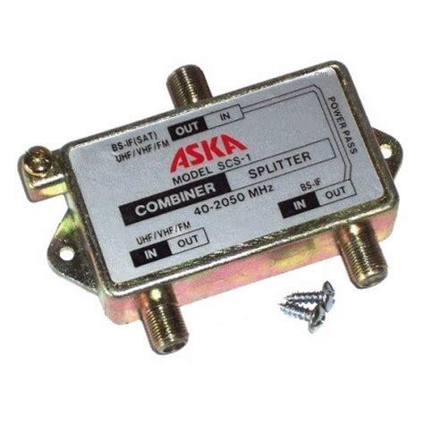 satellite tv antenna signal diplexer filter   mhz